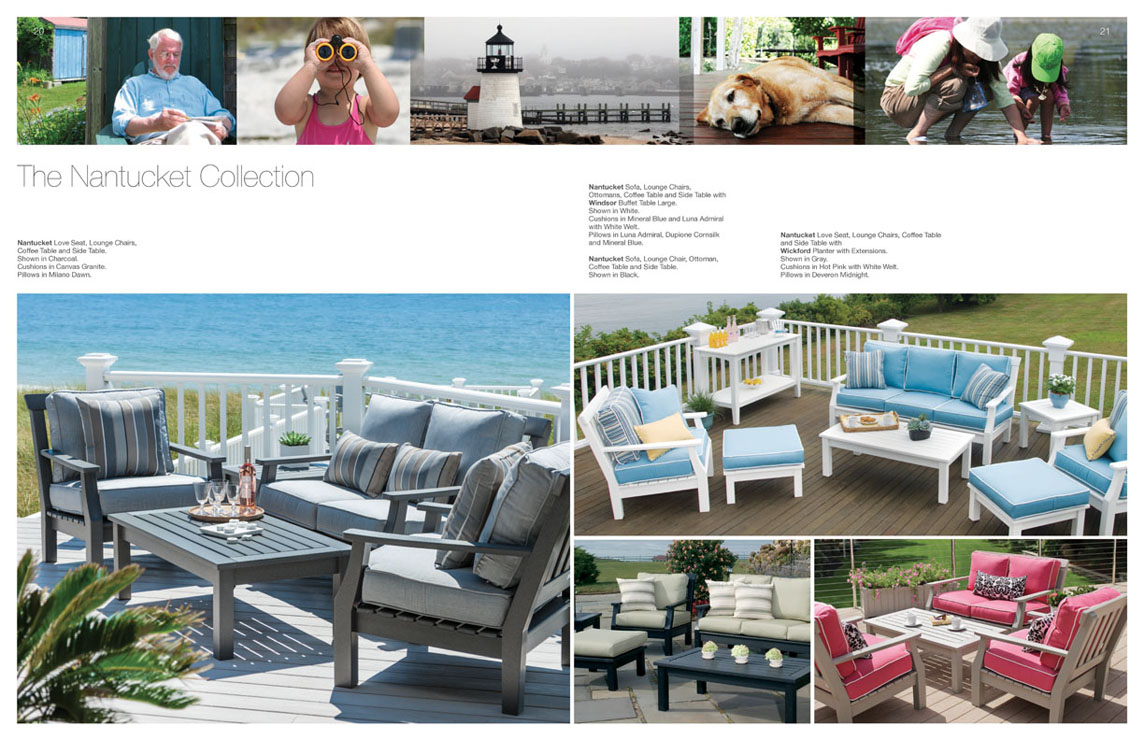NANTUCKET Collection By Seaside Casual