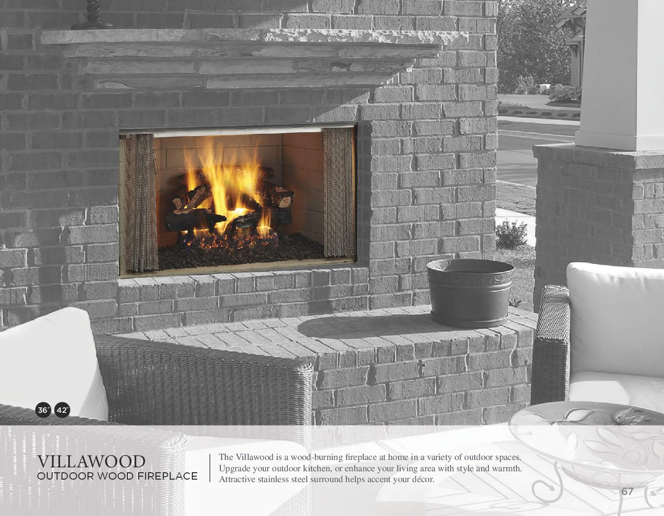 premium fireplace steel burning stainless oracle wood mosaic outdoor vantage masonry hearth