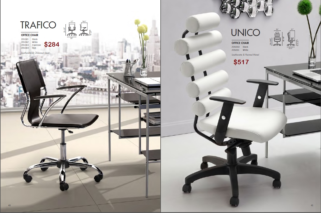 unico office chair. TRAFICO \u0026 UNICO OFFICE CHAIRS By Zuo Unico Office Chair