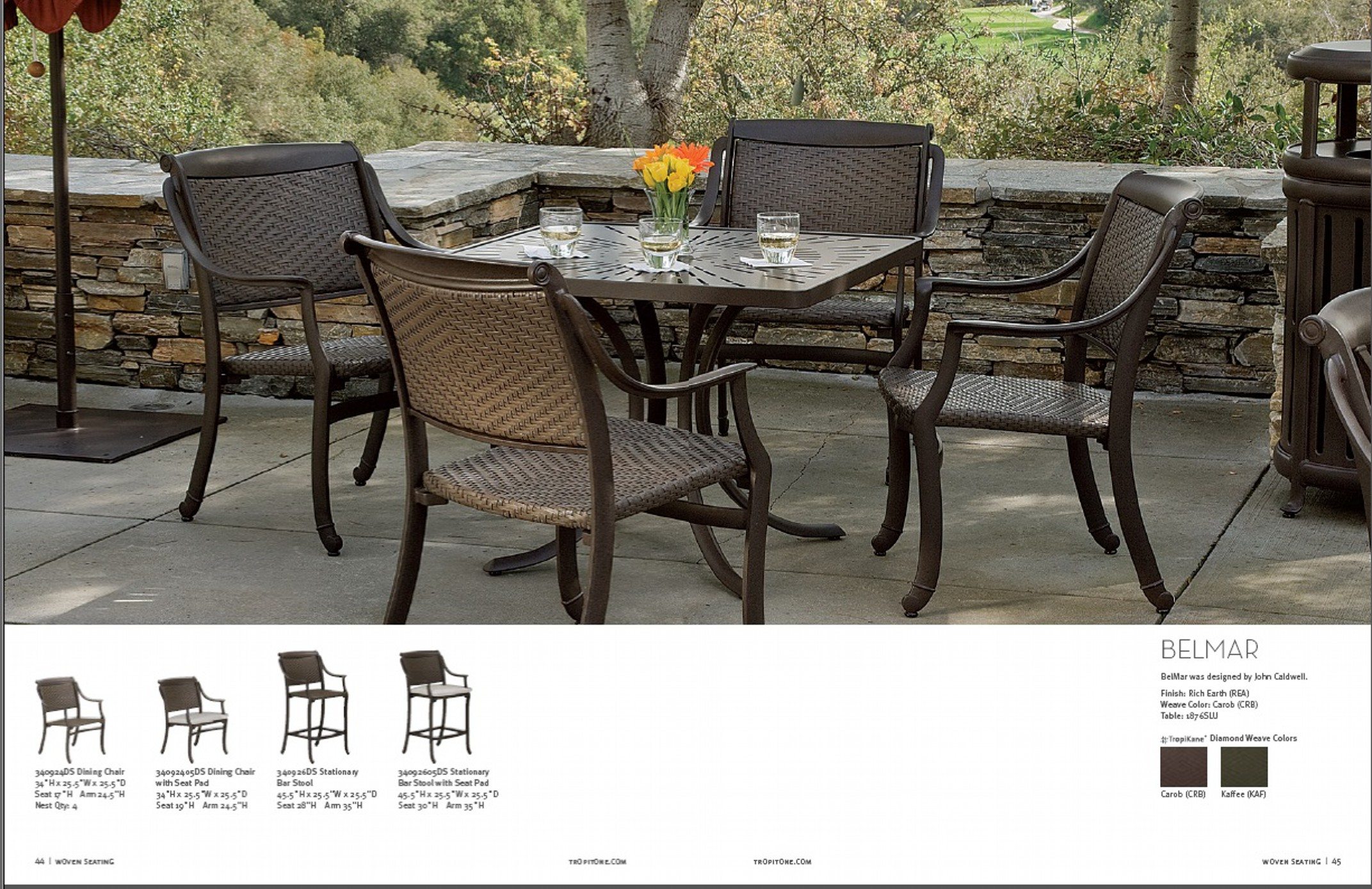 patio furniture summerclassics luxury tropitone