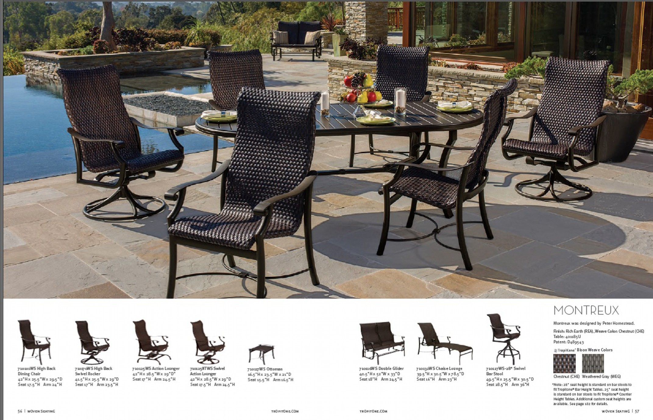 corsica furniture collection tropitone manufacturers patio