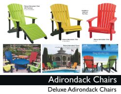 ADIRONDACK CHAIRS by Recycled Patio
