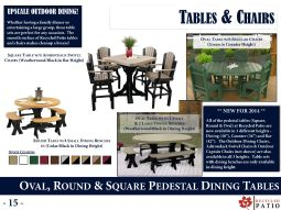 DINING TABLES by Recycled Patio