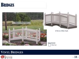 VINYL BRIDGES by Recycled Patio