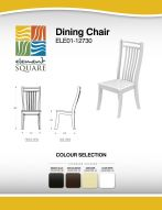 DINING CHAIR by Element Square