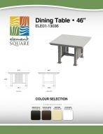 DINING TABLE (46) by Element Square