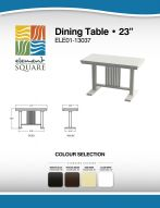 DINING TABLE (23) by Element Square