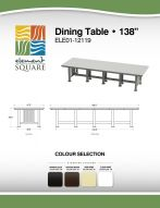 DINING TABLE (138) by Element Square