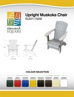 UPRIGHT MUSKOKA CHAIR by Element Square