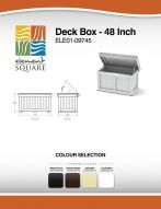 DECK BOX (48) by Element Square