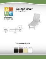 LOUNGE CHAIR by Element Square