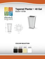TAPERED PLANTER (40) by Element Square