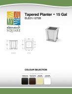 TAPERED PLANTER (15) by Element Square