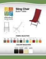 SLING CHAIR by Element Square