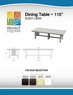 DINING TABLE (115) by Element Square