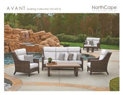 AVANT Seating by Northcape