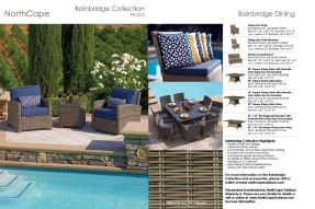 BAINBRIDGE Collection & Dining by Northcape