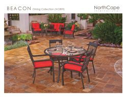 BEACON Dining Collection by Northcape
