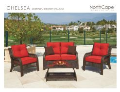 CHELSEA  Seating Collection by Northcape