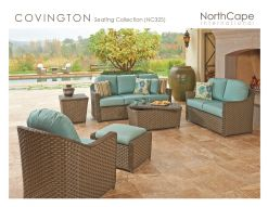 COVINGTON Seating Collection by Northcape