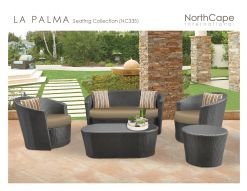 LA PALMA Seating Collection by Northcape