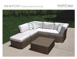 NEWPORT Seating Collection by Northcape