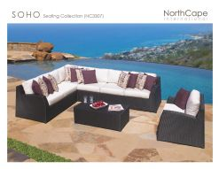 SOHO Seating Collection by Northcape