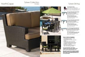 TYBEE Collection & Dining by Northcape