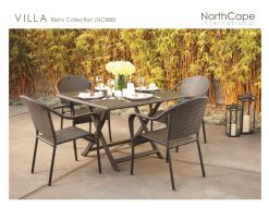 VILLA Bistro Collection by Northcape