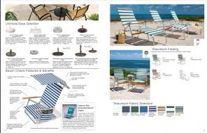 TELAWEAVE FOLDING BEACH CHAIRS by Telescope Casual