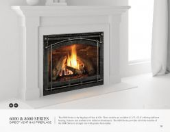 6000 & 8000 Series DVG Fireplaces by Heat & Glow
