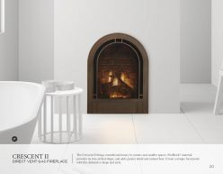 CRECENT II DVG Fireplaces by Heat & Glow