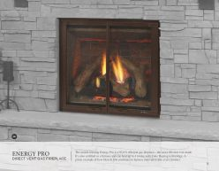 ENERGY PRO DVG Fireplace by Heat & Glow