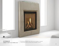 EVEREST DVG Fireplaces by Heat & Glow