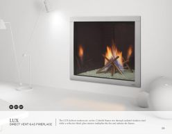 LUX DVG Fireplace by Heat & Glow