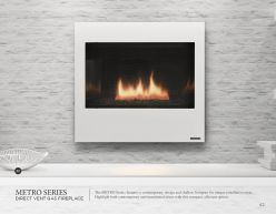 METRO Series DVG Fireplace by Heat & Glow