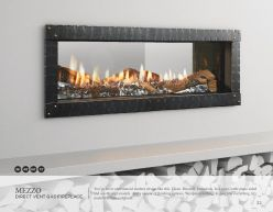 MEZZO DVG Fireplace by Heat & Glow