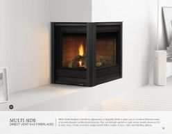 MULI-SIDED DVG Fireplaces by Heat & Glow