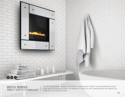 REVO Series DVG Fireplace by Heat & Glow