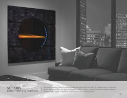 SOLARIS DVG Fireplace by Heat & Glow