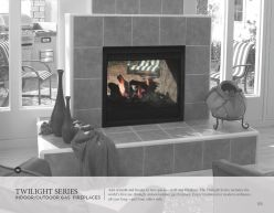 TWILIGHT Series Indoor & Outdoor Gas Fireplaces by Heat & Glow