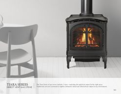 TIARA Series DVG Stove by Heat & Glow