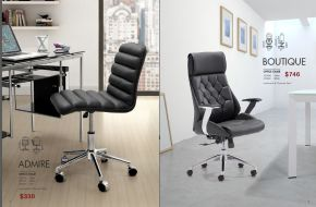 ADMIRE & BOUTIQUE OFFICE CHAIRS by Zuo
