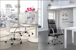 DEAN H.B. & CRISS CROSS OFFICE CHAIRS by Zuo