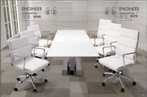 ENGINEER HIGH & LOW BACK OFFICE CHAIRS by Zuo