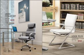LIDER COMFORT OFFICE & LIDER PLUS CONFERENCE CHAIRS by Zuo
