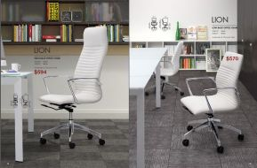 LION H.B. & L.B. OFFICE CHAIRS by Zuo