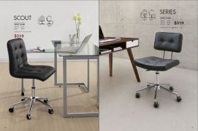 SCOUT & SERIES OFFICE CHAIRS by Zuo Modern