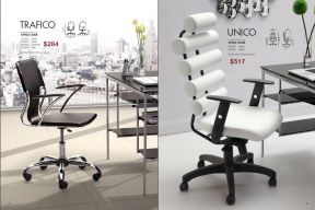 TRAFICO & UNICO OFFICE CHAIRS by Zuo