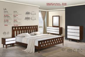 LA BEDROOM SET by Zuo
